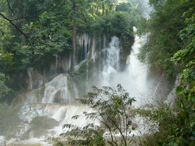 Luang-Prabang-capitale-Laos-cascade