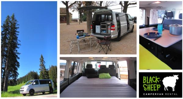 Campervan VW Blacksheep Van