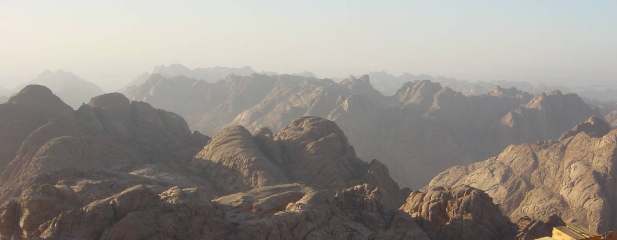 Mont Sinai Monastère sainte catherine sommet