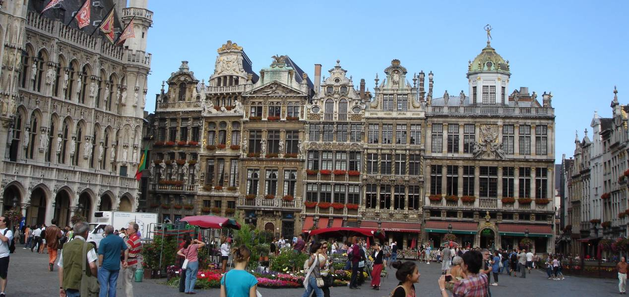 Monuments-de-bruxelles-capitale-belgique-grand-place