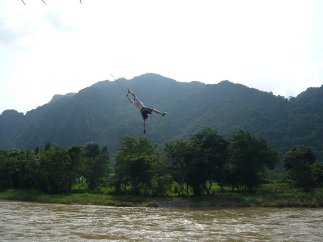 Vang Vieng attraction