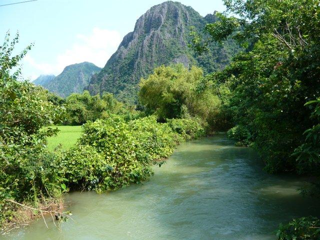 Vang Vieng nature