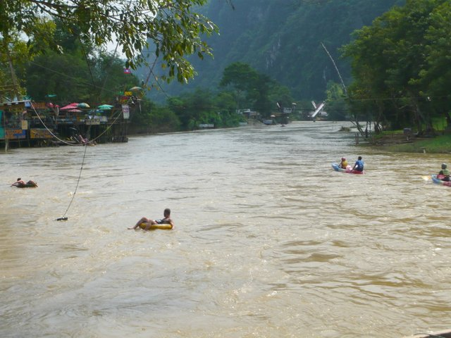 Vang Vieng riviere