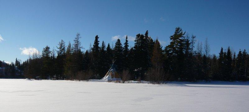 activités de plein air en hiver
