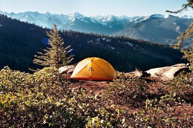 Tente Sequoia National Park