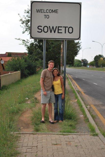 Sécurité en Afrique du Sud Township Soweto
