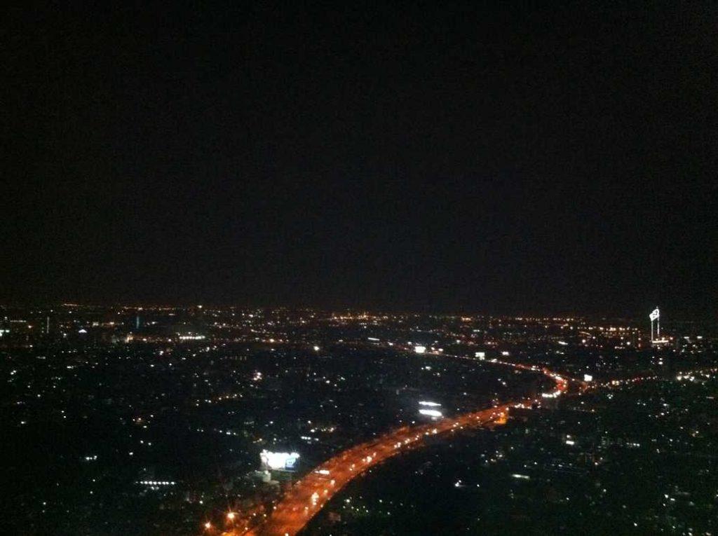 que visiter a bangkok - vue Sirocco