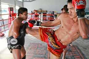 stage boxe thai thailande