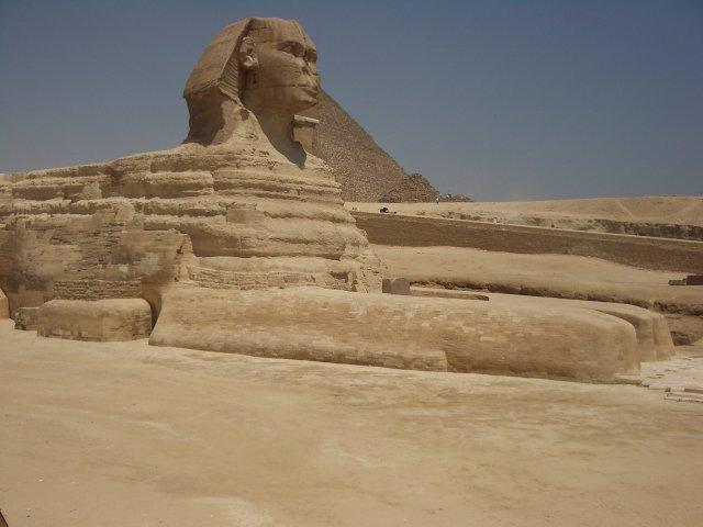 Sphynx pyramides du caire