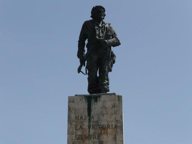 Statue du Che à Santa Clara