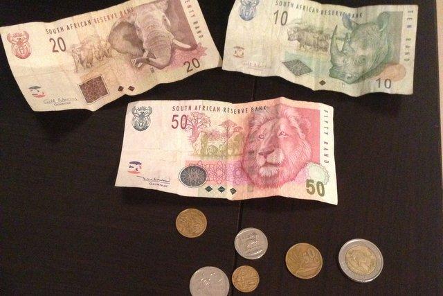 monnaie afrique du sud