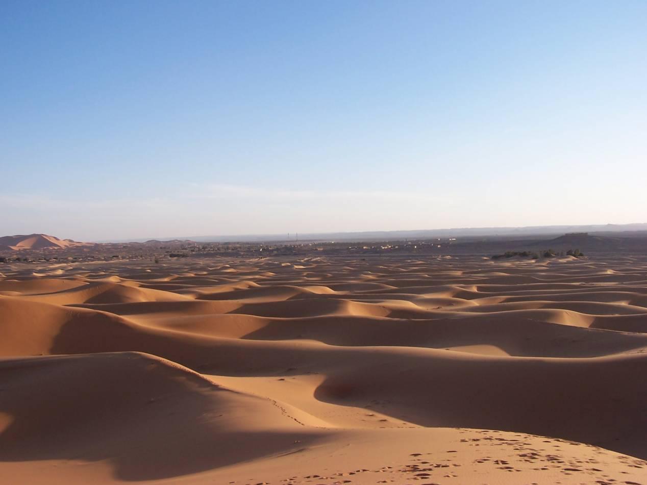 desert maroc