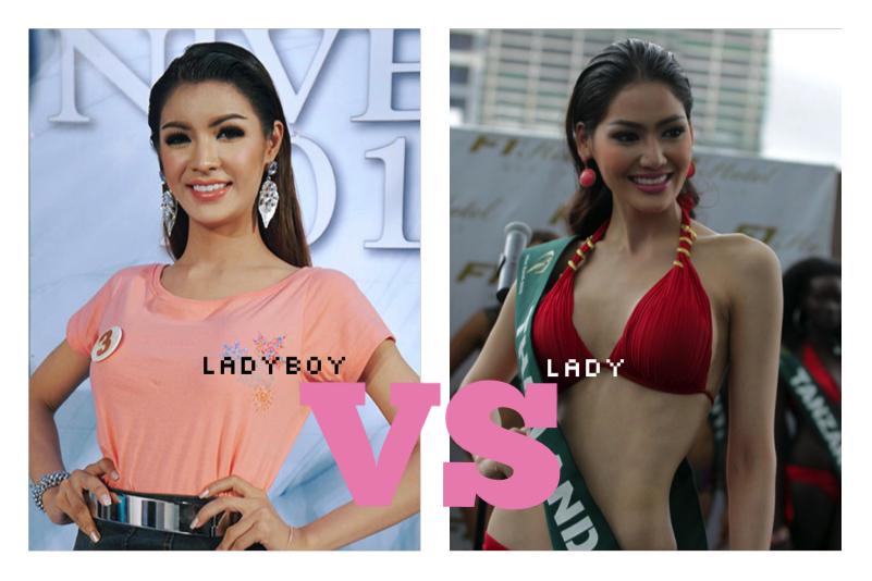 ladyboy versus lady