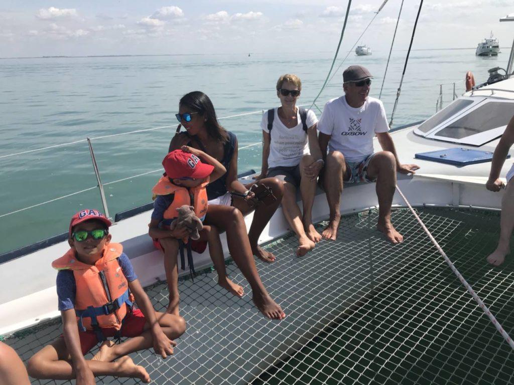 a bord