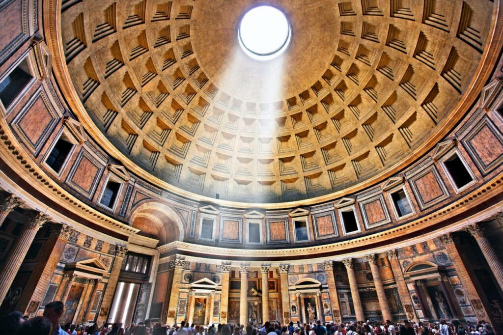 coupole pantheon