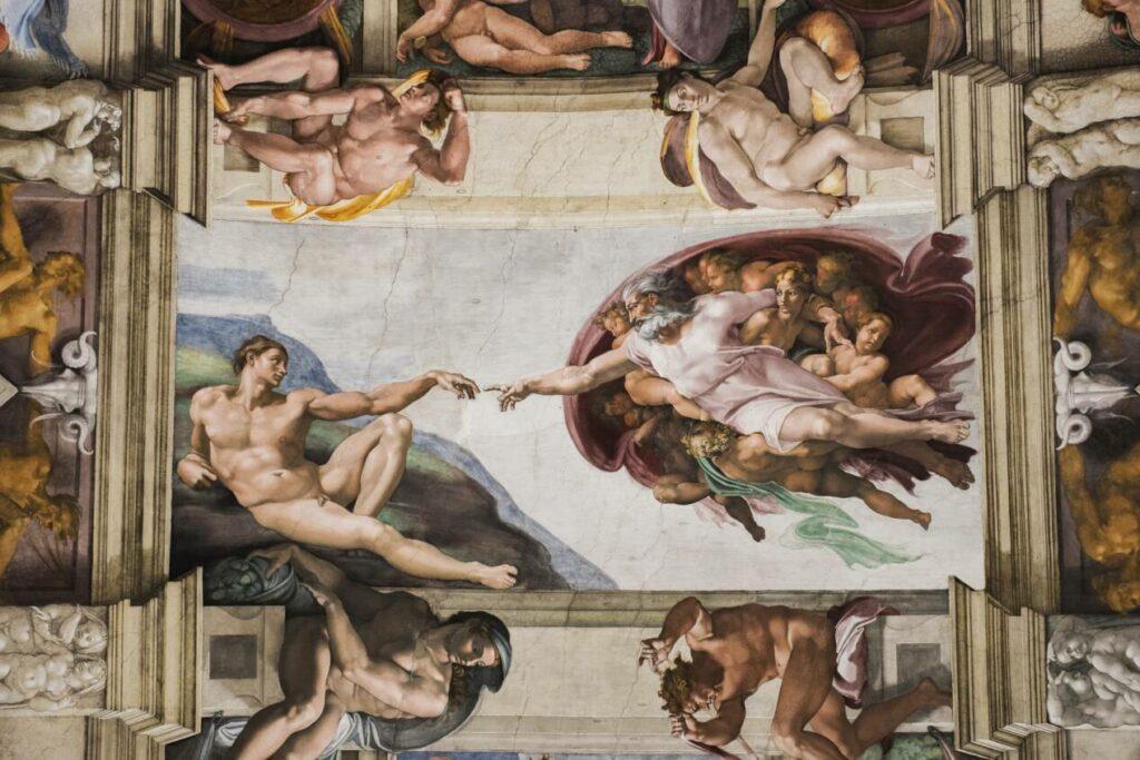 creation adam interieur basilique