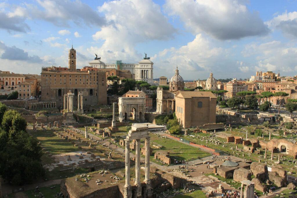 forum romain rome