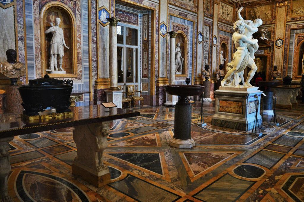 galerie borghese rome
