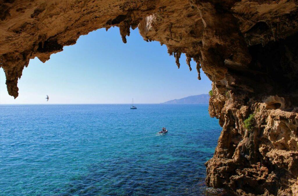 grottes blue marino