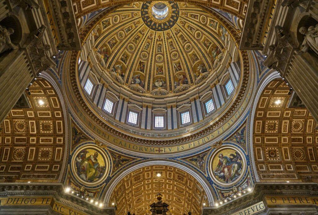 interieur basilique saint pierre