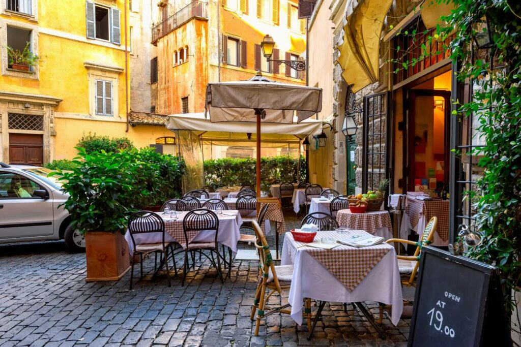 meilleurs restaurants pas cher rome