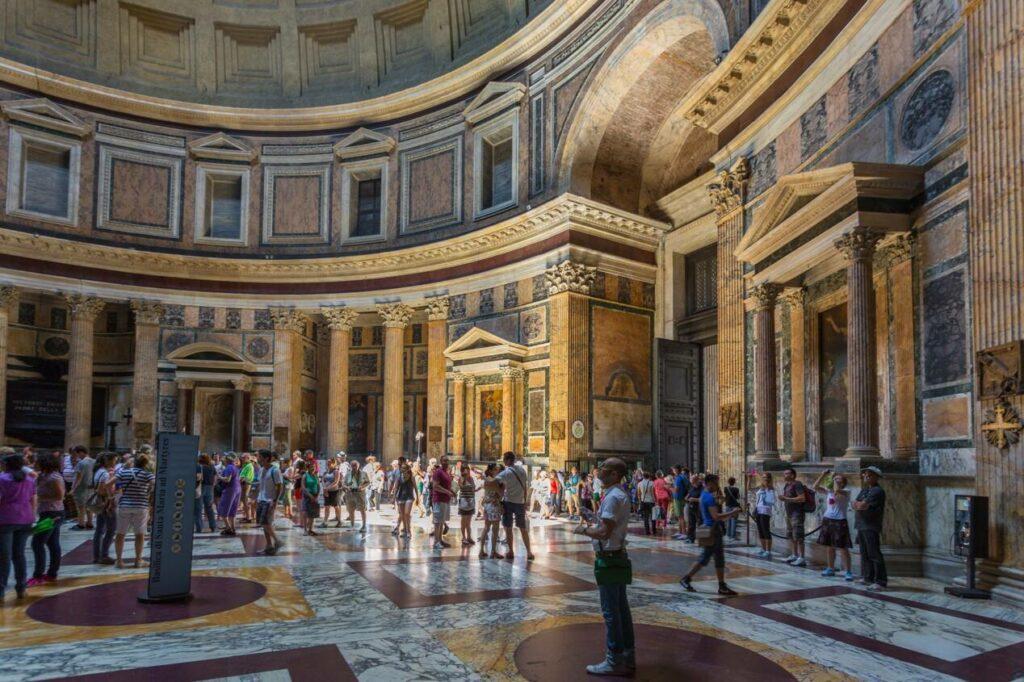 pantheon visiteurs