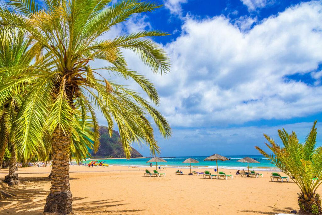 profiter des plages de tenerife
