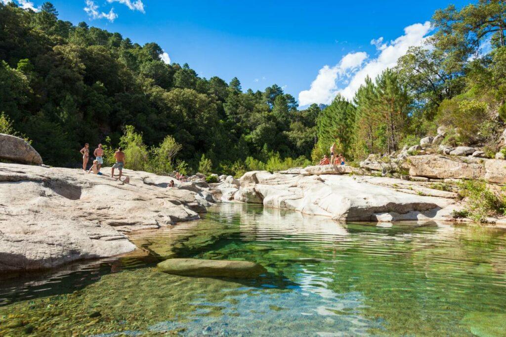 plus belles piscines naturelles corse