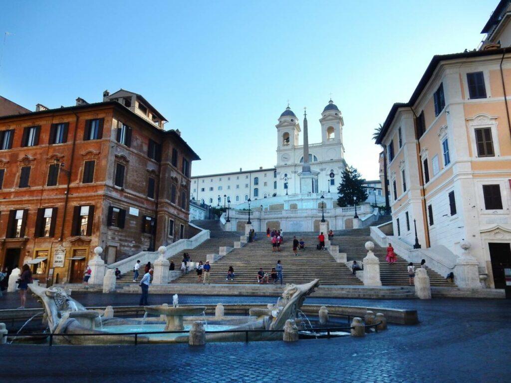 rome monuments piazza di spagna