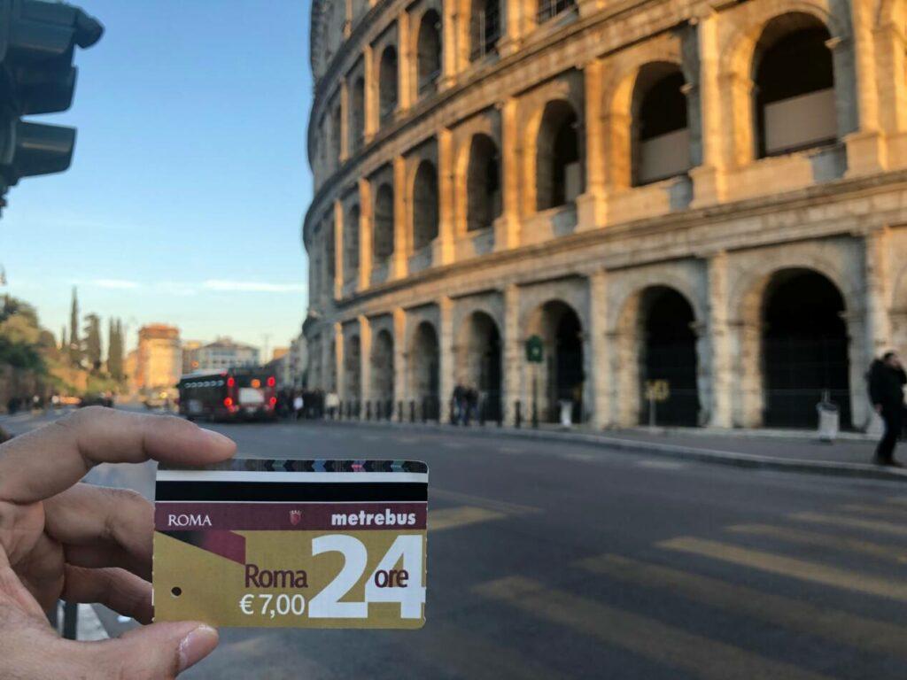 rome ticket 24 heures