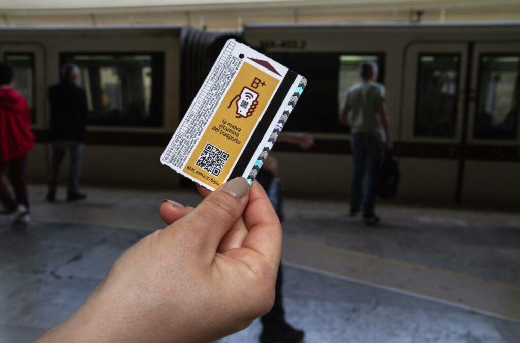 rome ticket metro