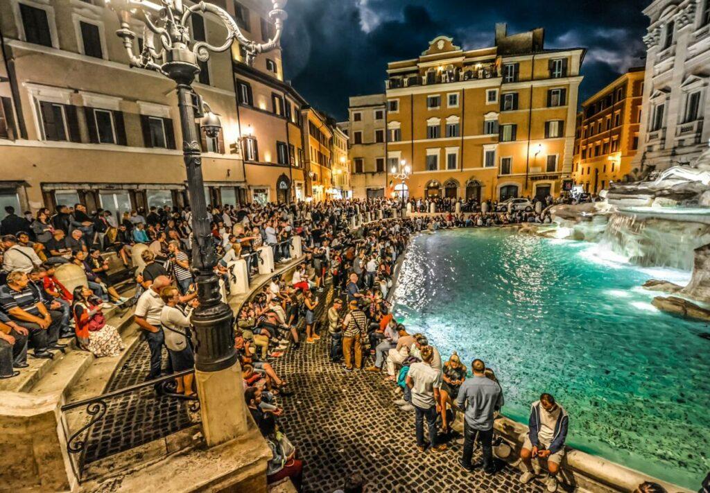 visiter fontaine trevi rome